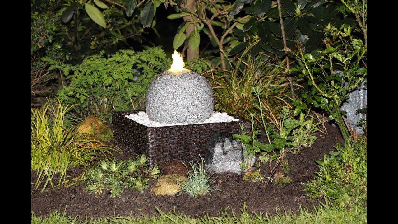 Bekannt Gartenbrunnen anlegen - NewWonder555 - YouTube IA58