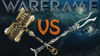 Warframe - Fragor Prime vs Heliocor