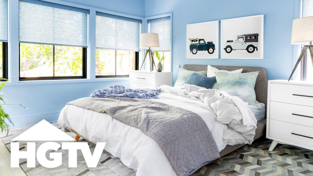 HGTV Urban Oasis 2019 - Master Bedroom and Bathroom Tour