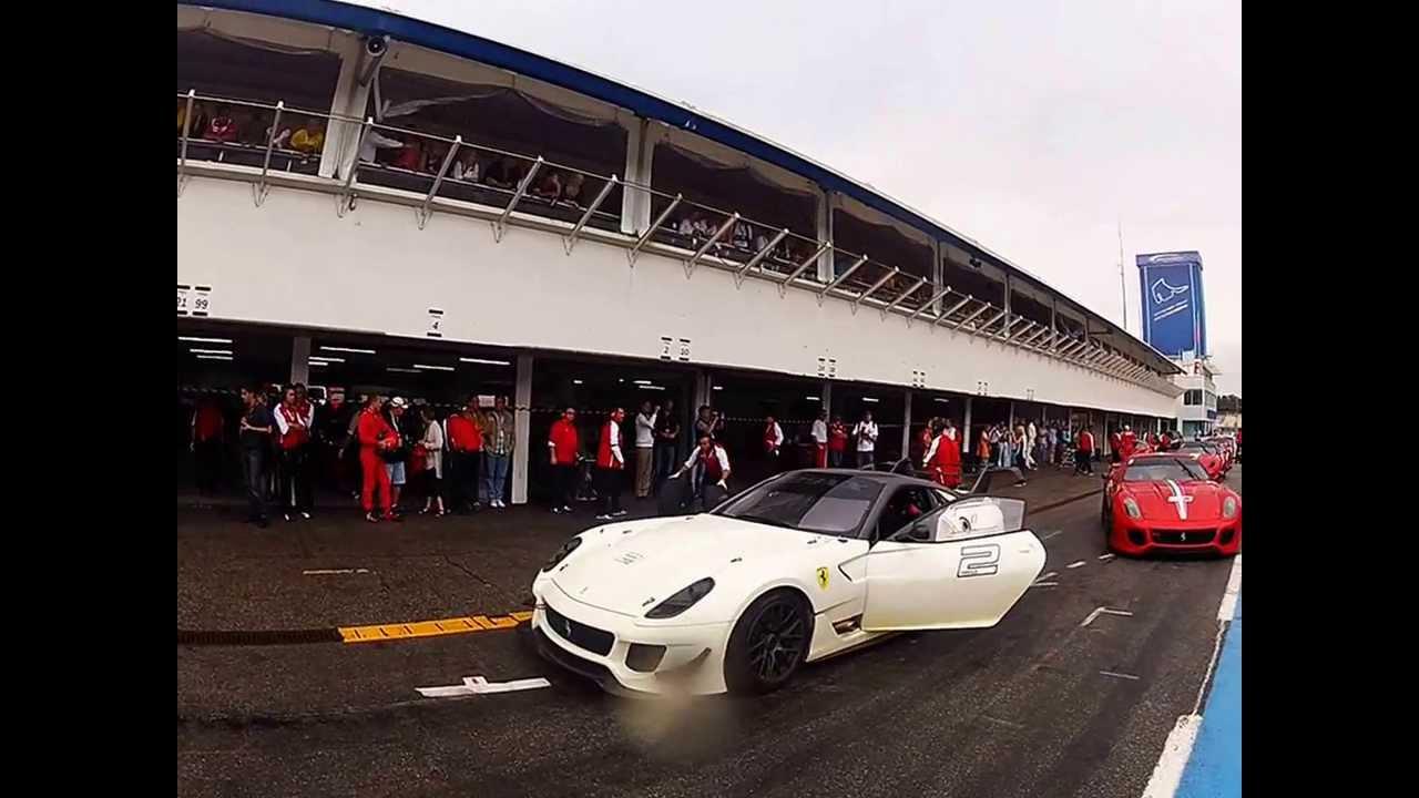 Ferrari Racing Days Hockenheim 2013, 599XX & FXX session ...
