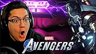 Marvel's Avengers Game - NEW STORY TRAILER REACTION!