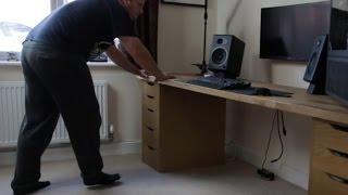 Ikea PC Desk Build - Redux