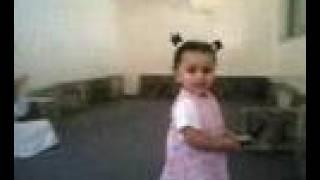 saudi girl dancing بنت سعودية ترقص