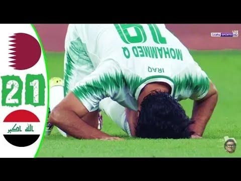 Iraq vs Qatar 2-1 - All Goals - Arabian Gulf Cup 🔥 26-11-2019 HD