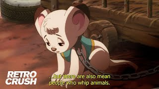 Lion cub discovers both sides of human nature | Jungle Emperor Leo (1997)