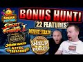 BONUS HUNT €5000 Results 9 Big Bet Casino Bonuses - YouTube