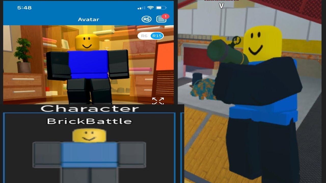 How to make Roblox arsenal BrickBattle skin avatar in roblox YouTube