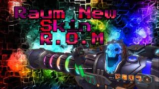Raum New Skin R.O.M | Paladins Gameplay