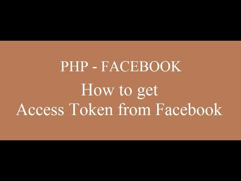 How To Get Access Token / App_ID / App_Secrete From Facebook - PHP Part-2