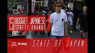 5 Budget Friendly Japanese Street Brands | STATE OF JAPAN