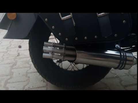 mitralyöz egzos 250 cc chopper