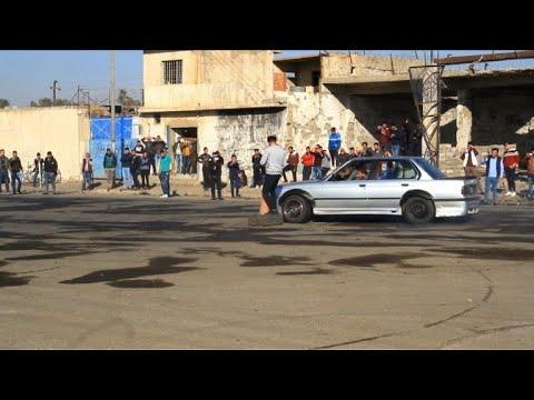 Drift racing fans rev up in Iraq