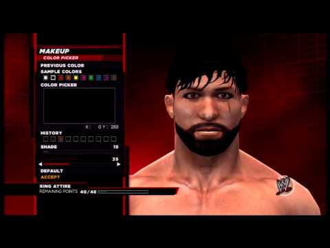WWE 2K14 CAW Creation: Wes Cade
