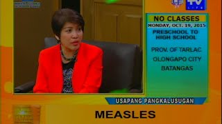 Good Morning Kuya: Measles - Signs and Cure