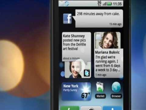 Motorola Cliq Awesome Overview