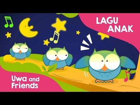 Lagu Anak Indonesia Populer - Burung Hantu - Matahari Terbenam