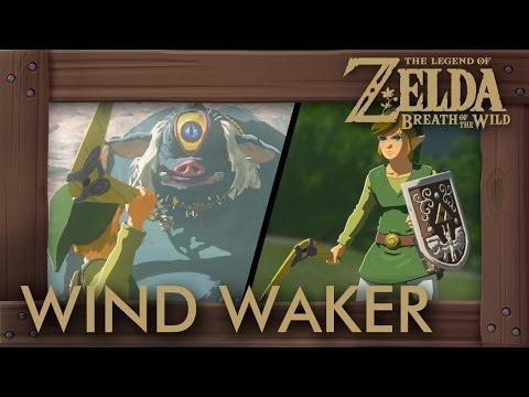 Zelda Breath of the Wild - Hero's Shield & Sea-Breeze Boomerang (Stats, How to Get & Gameplay)