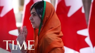 Canada Gives Malala Yousafzai Honorary Citizenship | TIME