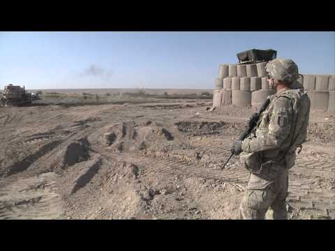 Military engineers build ROUTE AGHA to Combat Outpost LION
