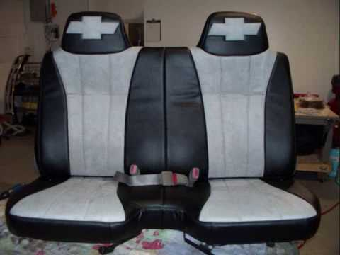 2004 Chevy S10 Custom Seats Leather & Suede Upholstery ...