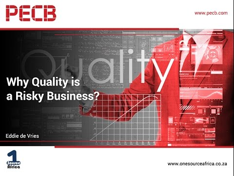 Why Quality is a Risky Business?