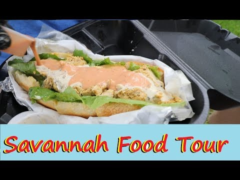 Savannah's Famous and Secret East Side Food Tour