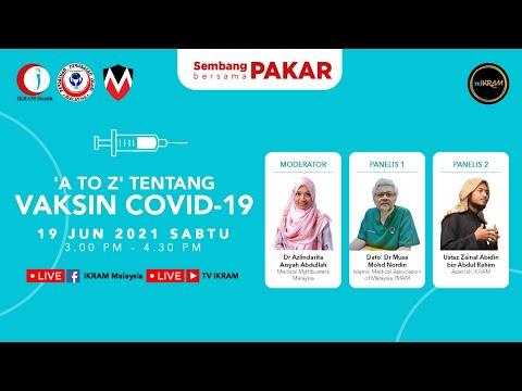 Vaksin Covid-19 info 'A to Z' | Sembang PAKAR Ep.1