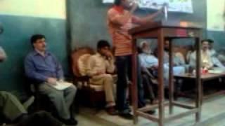 Mili Naghma-Govt City College Hyderabad Sindh
