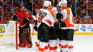 Philadelphia Flyers vs Calgary Flames, 04 december 2017