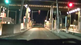 日本海東北自動車道の料金所、通過してみました。