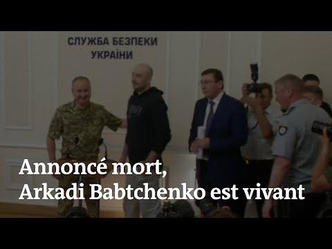 Annoncé mort, le journaliste russe Babtchenko apparaît devant la presse