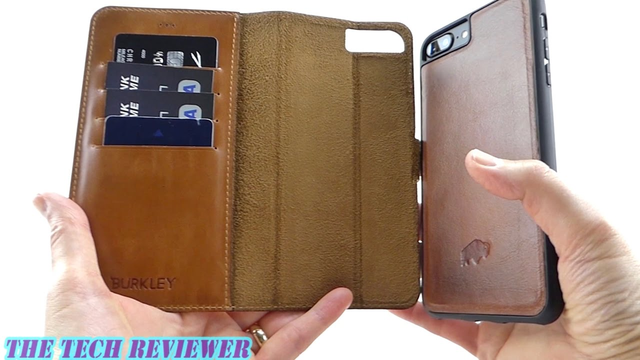 factory price 37739 2d4ca Burkley Magnetic Detachable Wallet Case for iPhone 7+: Handmade Turkish  Leather w/ Excellent Magnets