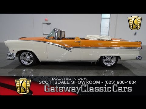 1956 Ford Sunliner Gateway Classic Cars of Scottsdale #108