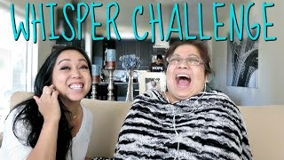the whisper challenge with mama june 12 2016 itsjudyslife vlogs