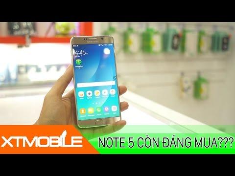 XTmobile | Galaxy Note 5 tụt giá cực sâu nên mua ngay hay đợi Note 7 ??
