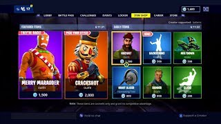 Possible Release Dates For The *OG* Crackshot and *OG* Merry Marauder Skins Coming Back To Fortnite
