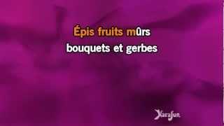 Karaoké Les trois cloches - Edith Piaf *