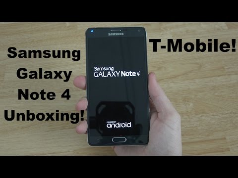 Samsung Galaxy Note 4 Unboxing and First Look!