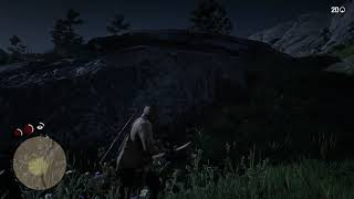 Red Dead Redemption 2 Hunting For Rabbits And Cooking, Eating Them!