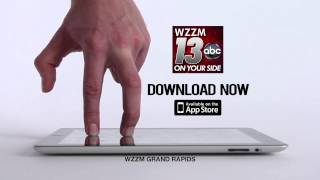 New WZZM 13 iPad App: Here We Go (ID)