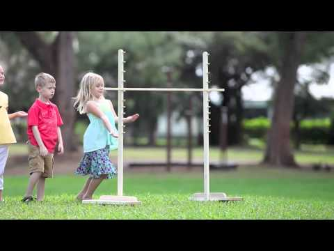 Wooden Limbo Game For Kids-Magic Cabin
