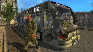 City Army Bus US Solider Transport Game Best Android Gameplay HD