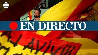 DIRECTO VOX: Santiago Abascal comparece en rueda de prensa
