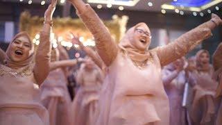 BEBAS (OST. BEBAS) - Flashmob Dance Bridesmaids Tanti wedding party