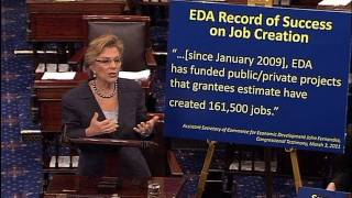 Senator Boxer Speaks On Bipartisan Jobs Bill