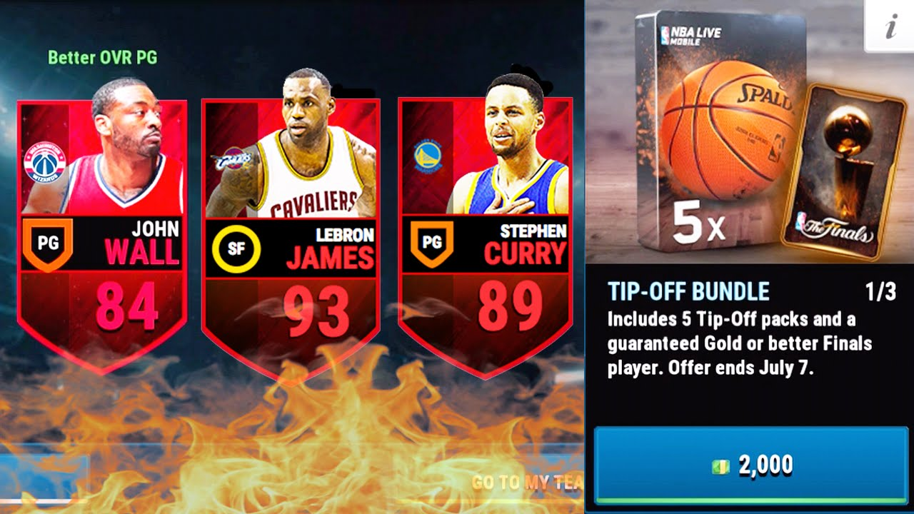 NBA Live Mobile - Amazing Elite Pulls!!!!! - YouTube