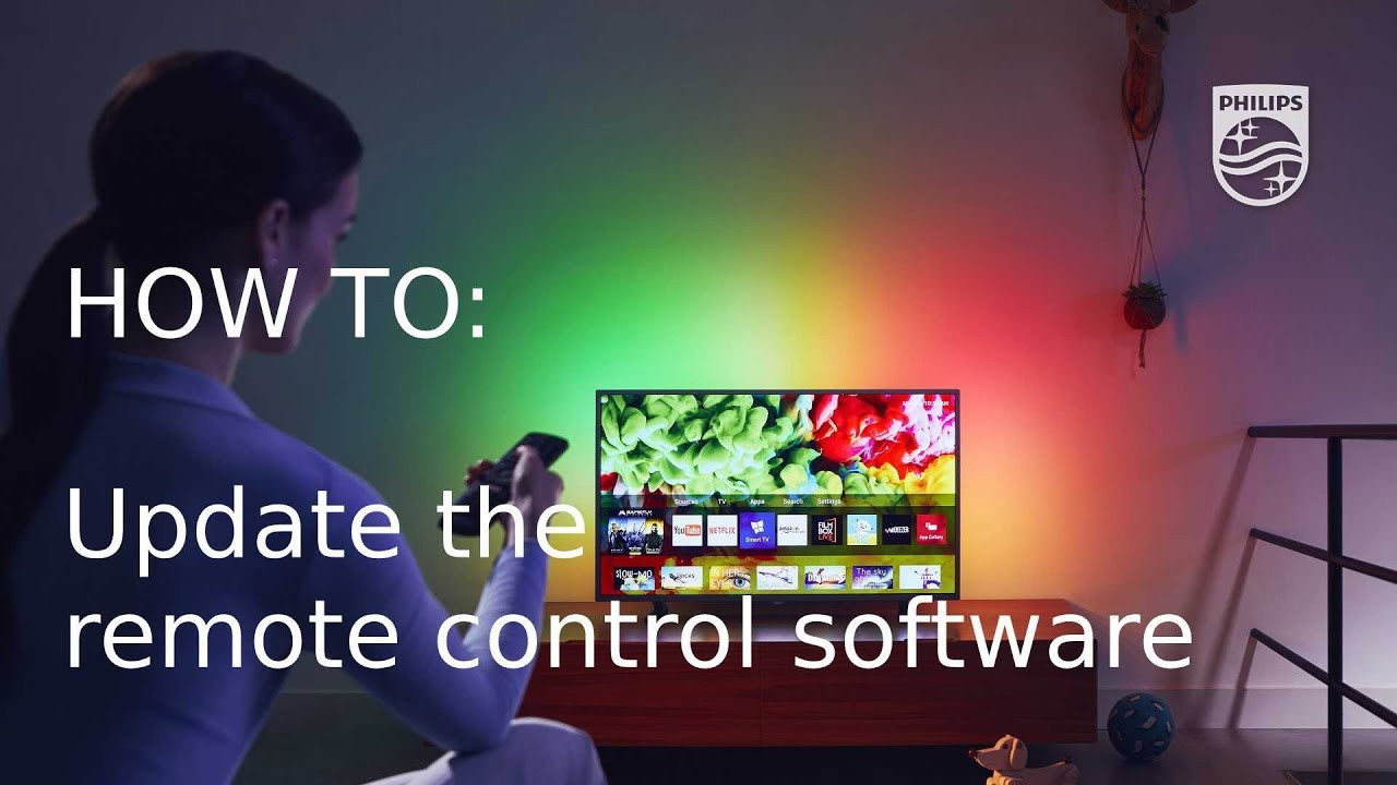 How to update your philips tv remote control software [2018] youtube.