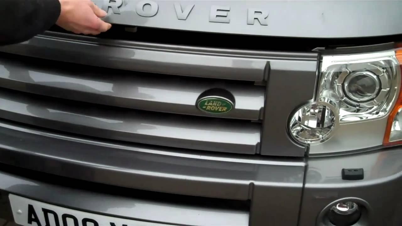 How To Change Front Grille On Land Rover Discovery 3 Lr3