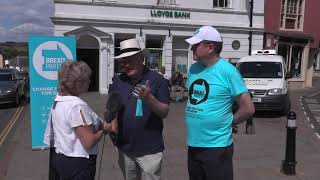 BREXIT Party Gloucestershire's Christina Simmonds interviews Des Parkinson  BREXIT Party Candidate