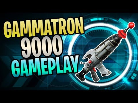 FORTNITE – New GAMMATRON 9000 Sci-Fi Assault Rifle Save The World Gameplay